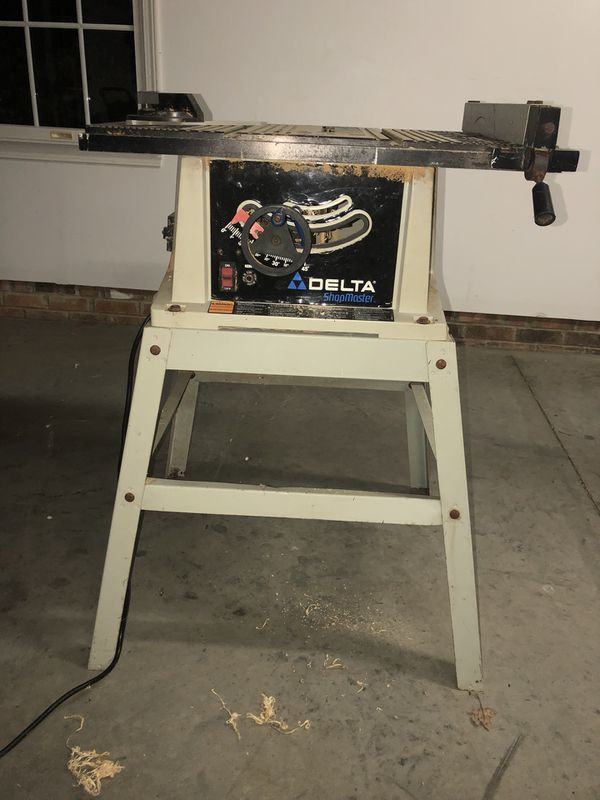 Delta Shop Master Table Saw for Sale in Winston-Salem, NC - OfferUp