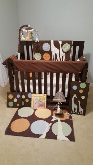 Baby bedroom set (Convertible to Full bed) for Sale in Midlothian, VA