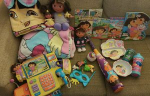 Dora the Explorer toys, books, & more! for Sale in Manassas, VA