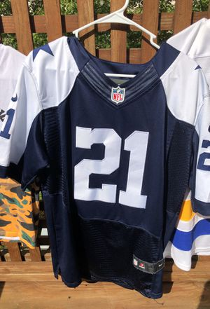 Zeke the freak Dallas cowboys football jersey for Sale in Sterling, VA