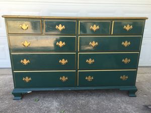 Vintage Maple Wood Ten Drawer Dresser By Thomas Beals For In Irving Tx Offerup