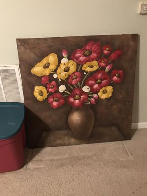 Large canvas painting art for Sale in Wake Forest, NC