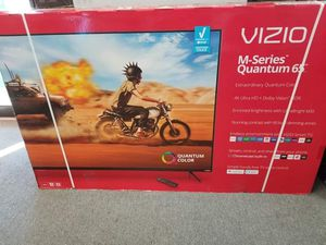 Photo VIZIO 65 M SERIES QLED 4K SMART TV M658-G1 ON SALE TOP RATED IN BOX WARRANTY TAX INCL OTD PRICE - PMT OPT