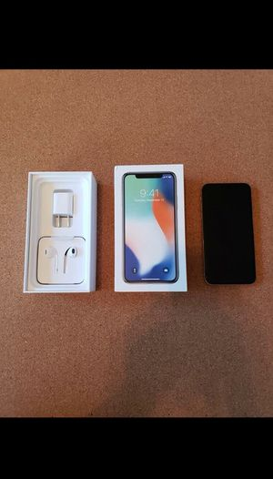 White iPhone X for Sale in Arlington, VA