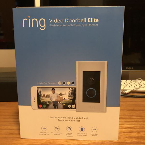 Ring Video Doorbell Elite For Sale In Tacoma Wa Offerup