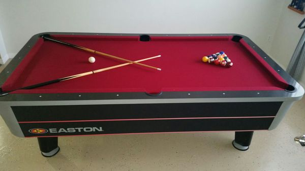 EASTON POOL TABLE PING PING TABLE For Sale In Orlando FL OfferUp - Easton pool table