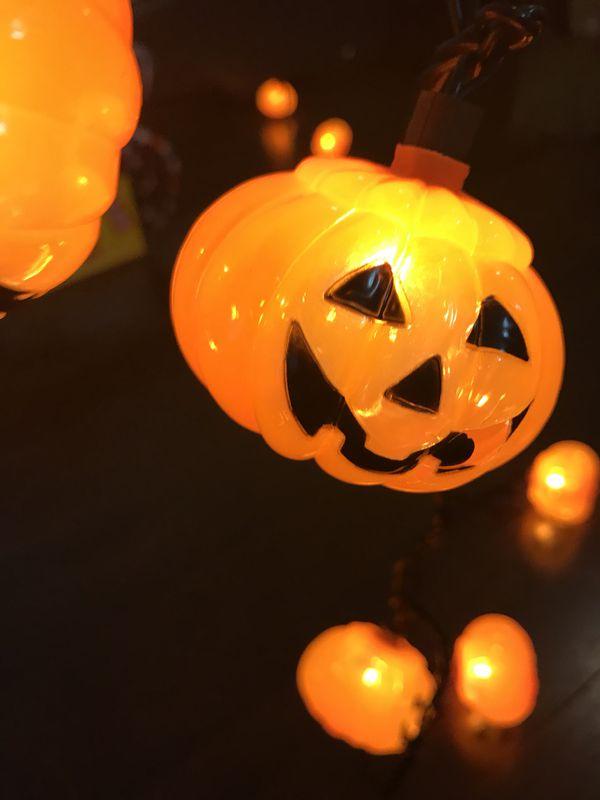 Cute Pumpkin String Lights Decorations Home Garden In West Palm Beach Fl Offerup