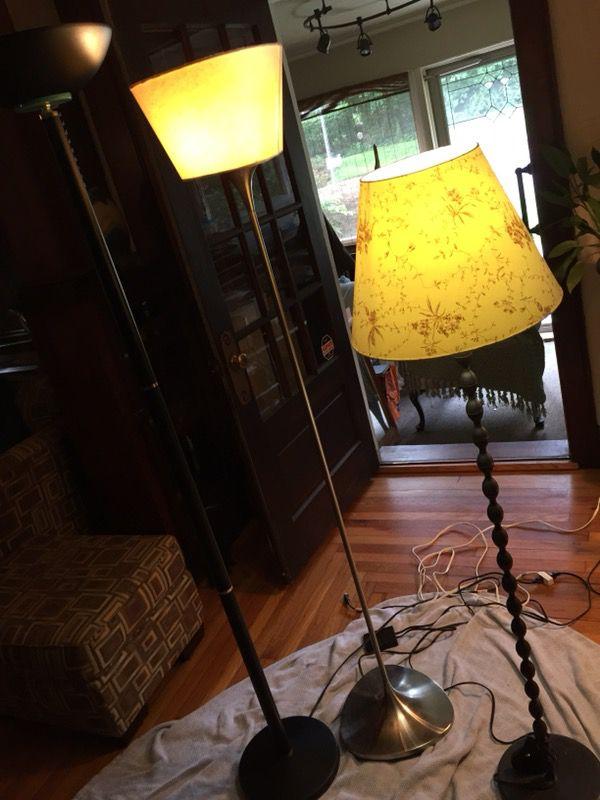 3 floor lamps for sale in branford ct offerup aloadofball Gallery