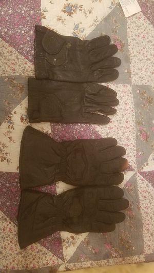 Haley Davidson winter/ summer gloves for Sale in Las Vegas, NV