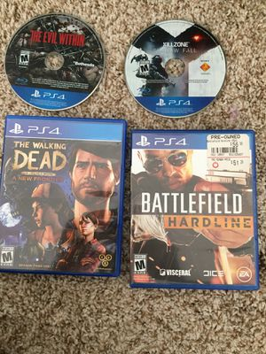 Trade ps4 games for Sale in Detroit, MI