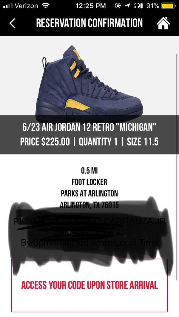 new style 7b34f 1cada Air Jordan 12 Michigan PE for Sale in Austin, TX - OfferUp
