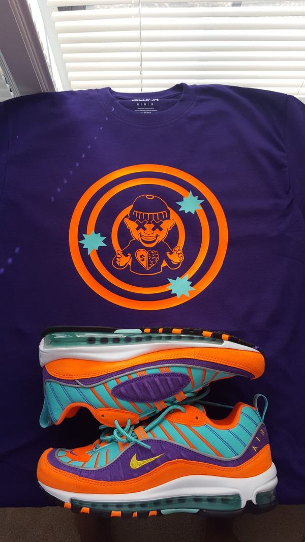a7df49ee SHIRTS for Airmax air max 98 cone grape orange for Sale in Smyrna ...