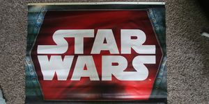 Star Wars canvas poster for sale  Tulsa, OK