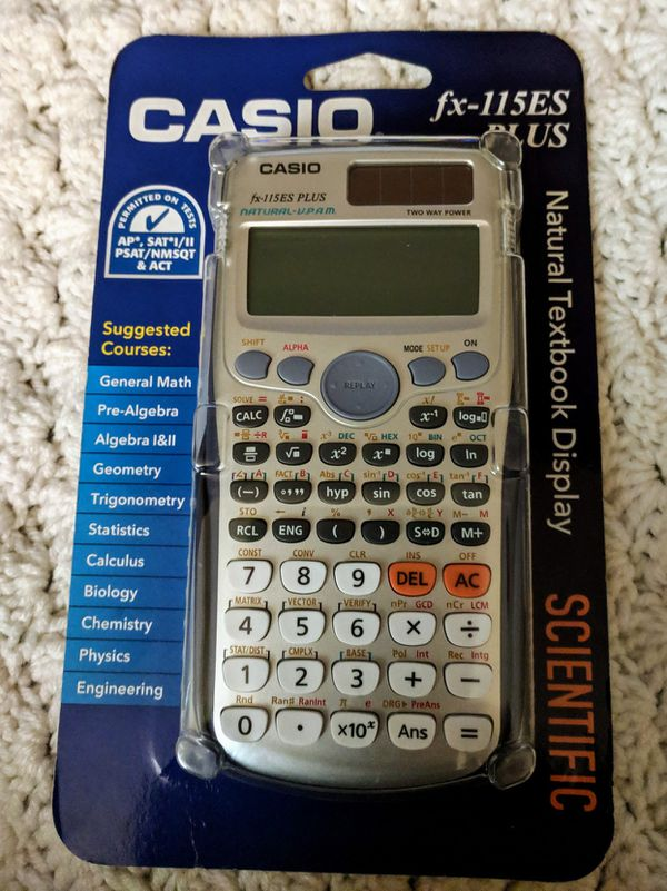New Casio Fx 115es Plus Scientific Calculator For Sale In Dallastown Pa Offerup