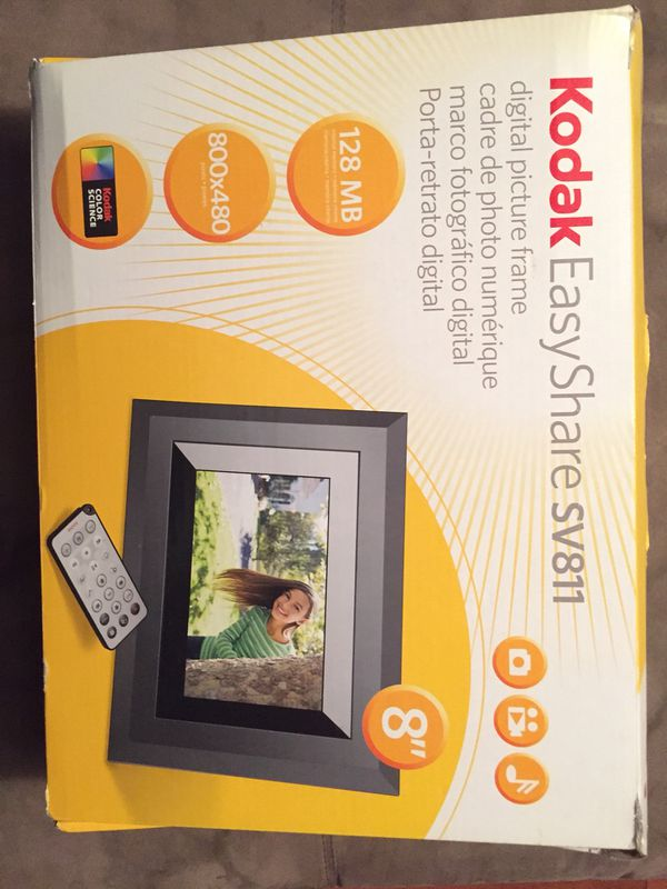 Kodak EasyShare sv811 digital picture frame (Photography) in ...