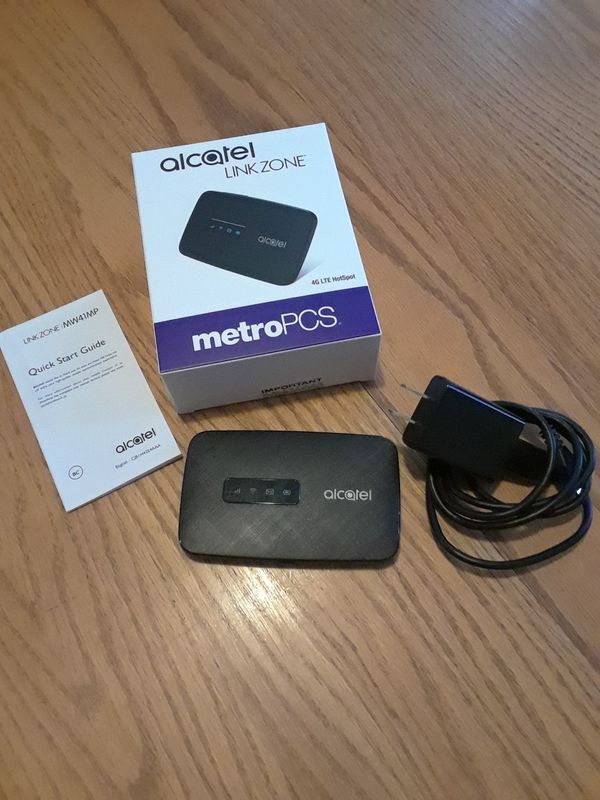 Alcatel LinkZone Mobile Hotspot for Metro PCS BRAND NEW UNLOCKED w/  original packaging for Sale in Portland, OR - OfferUp
