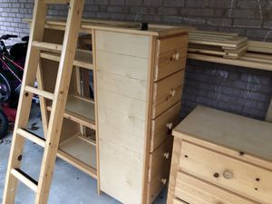Free twin bunk bed set for Sale in Annandale, VA