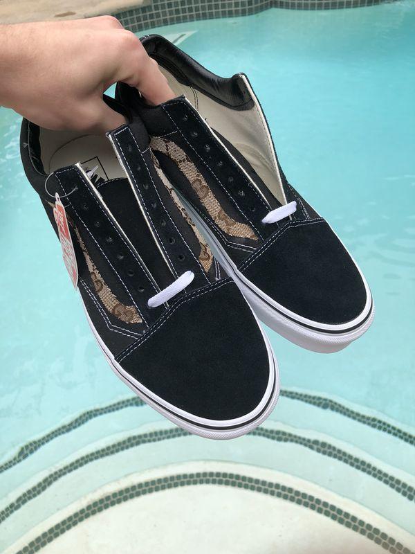 Custom Gucci Vans Old Skool ANY SIZE For Sale In Corona CA