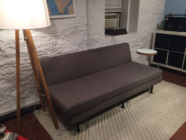 cb2 draper mid century modern sofa couch furniture in new york ny