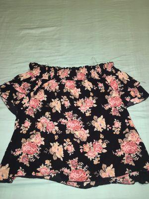 Off the shoulder shirt! for Sale in Sanford, NC