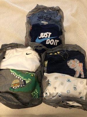 Photo (Shipping Available) 3 Bags of 0-3 Months Baby Boy Clothes