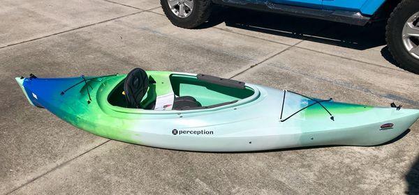 "Perception Conduit 9 5"" Kayak for Sale in Titusville, FL - OfferUp"