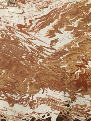 Handpainted flow abstract painting for Sale in Washington, DC