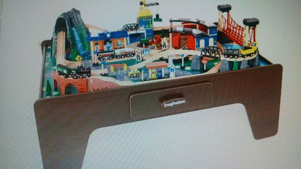 Imaginarium 100+ Piece Mountain Rock Train Table for Sale in Fremont ...