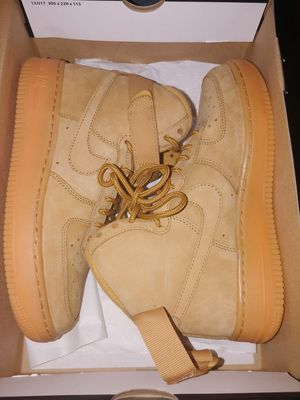 Nike air force ones 2018 wheat still new for Sale in Washington, DC