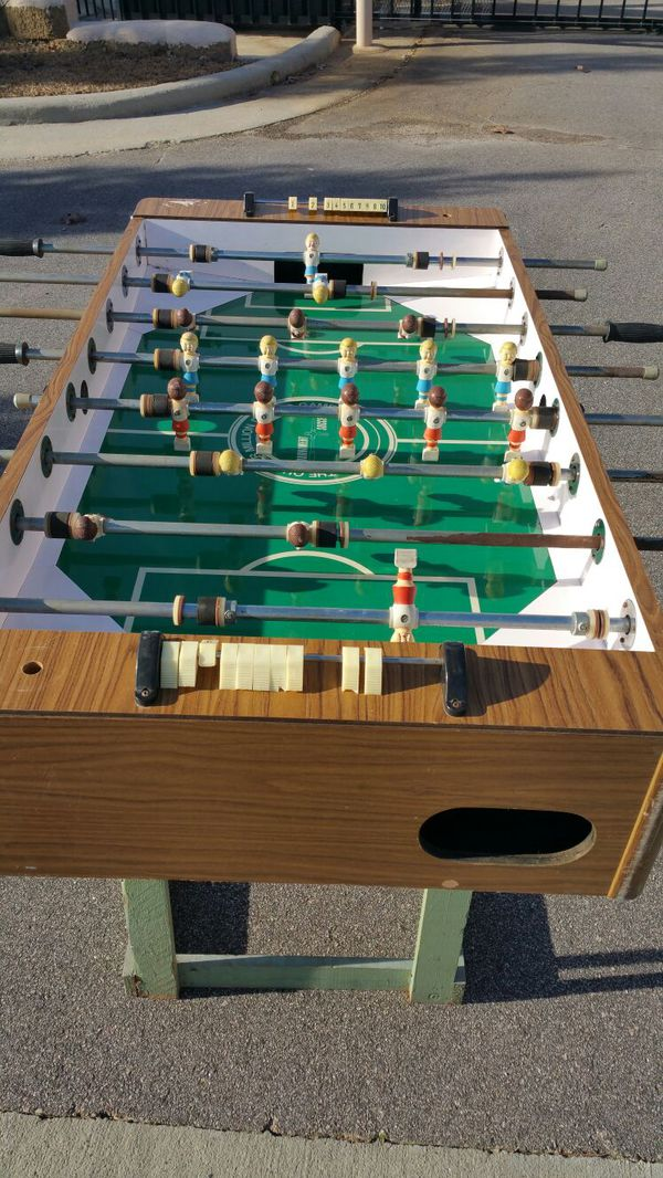 Vintage S Foosball Table The Quarter Million Dollar Tournament - Where to buy foosball table
