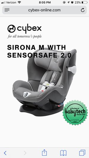 CYBEX SIRONA M CARSEAT Sensorsafe Pepper Black for Sale in McLean, VA