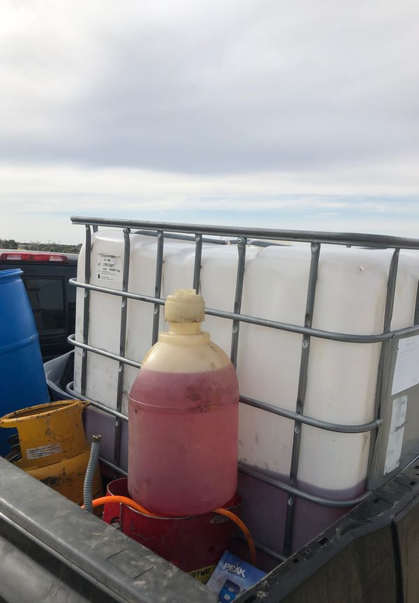125 Gallons of red dye diesel for Sale in Pinon Hills, CA - OfferUp
