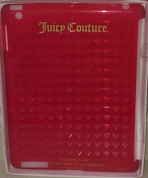 Juicy couture third generation iPad case for Sale in Chicago, IL