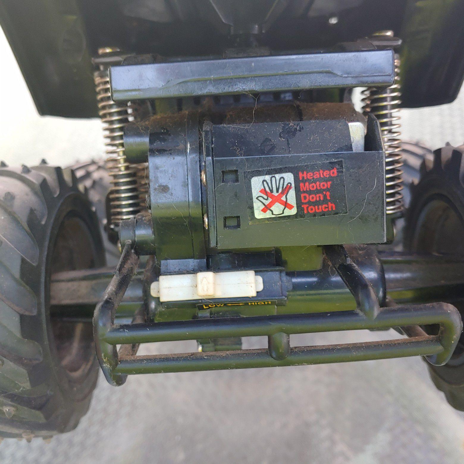 Vintage Radio Shack Intruder RC truck 4x4.