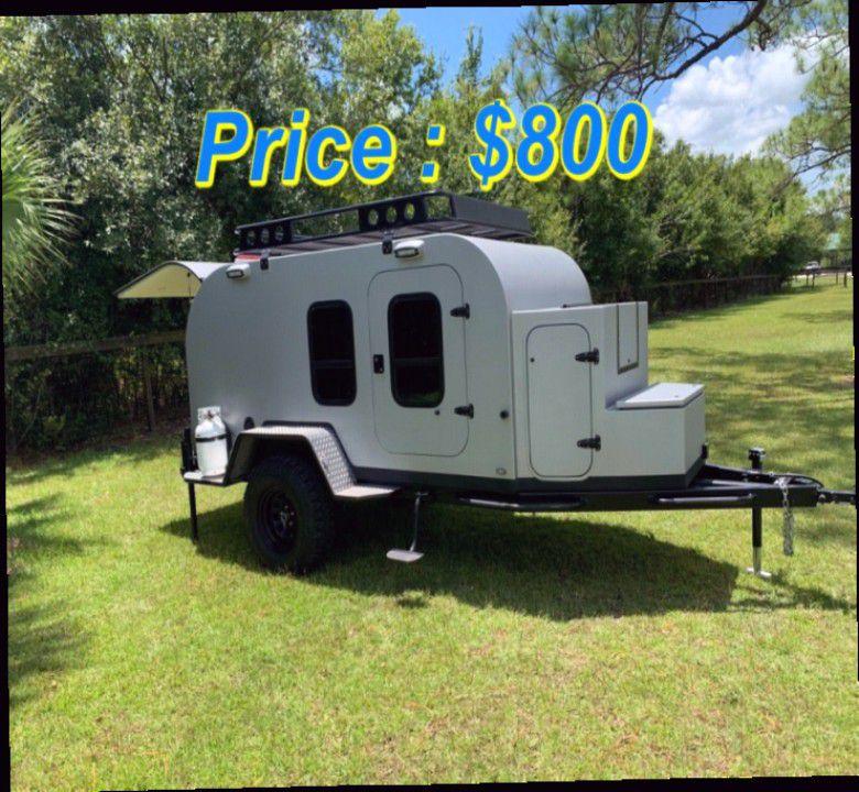 Photo Beautiful 2018 Teardrop Overland trailer for sale $800.00