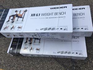 Photo Weider weight bench XR 6.1 NEW