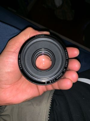 50mm Canon EF Lense for Sale in Los Angeles, CA
