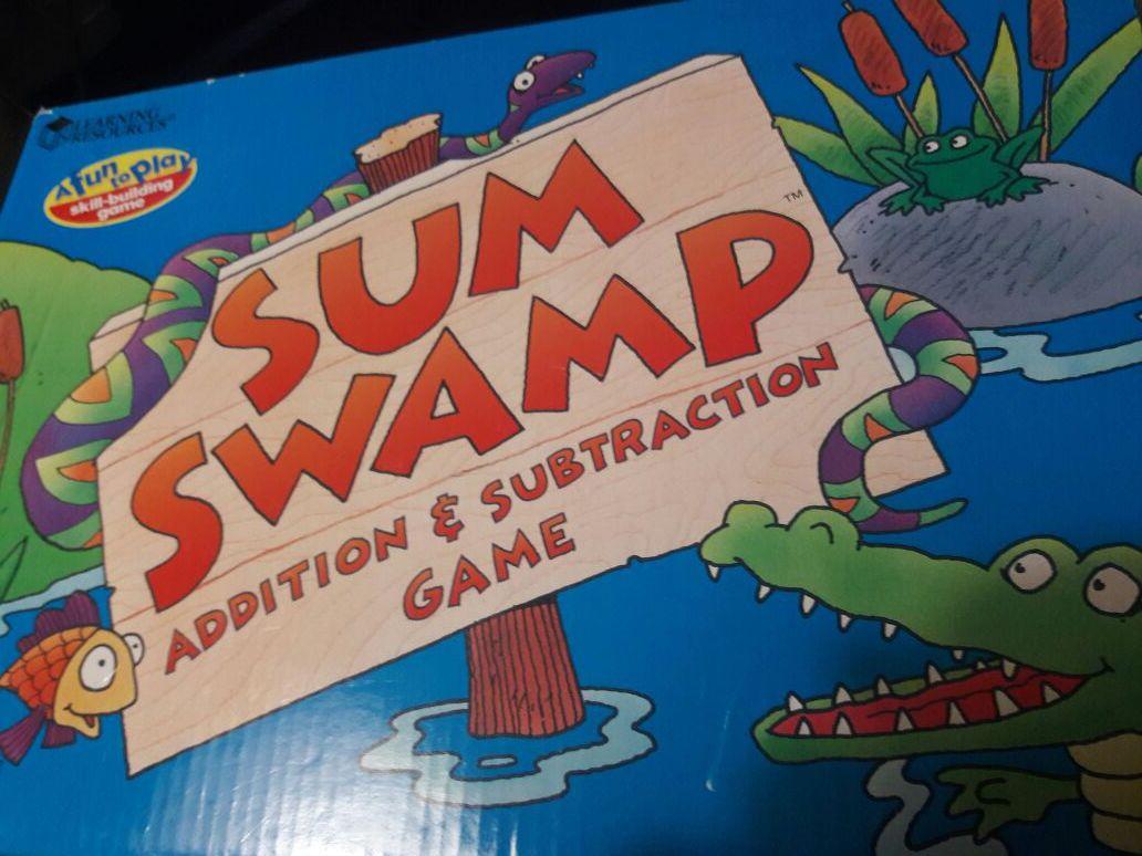 Sum Swamp Addition & Subtraction Game