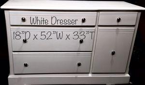 Photo Dresser tv stand all wood