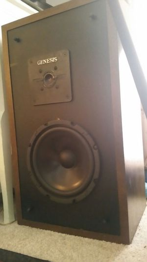 Genesis Physics 1+ *late 70's vintage* RARE (pair) for Sale in Montgomery Village, MD