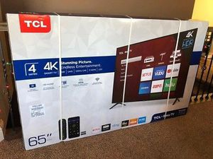 Tcl 65 inch tv brand new in box for Sale in Nashville, TN
