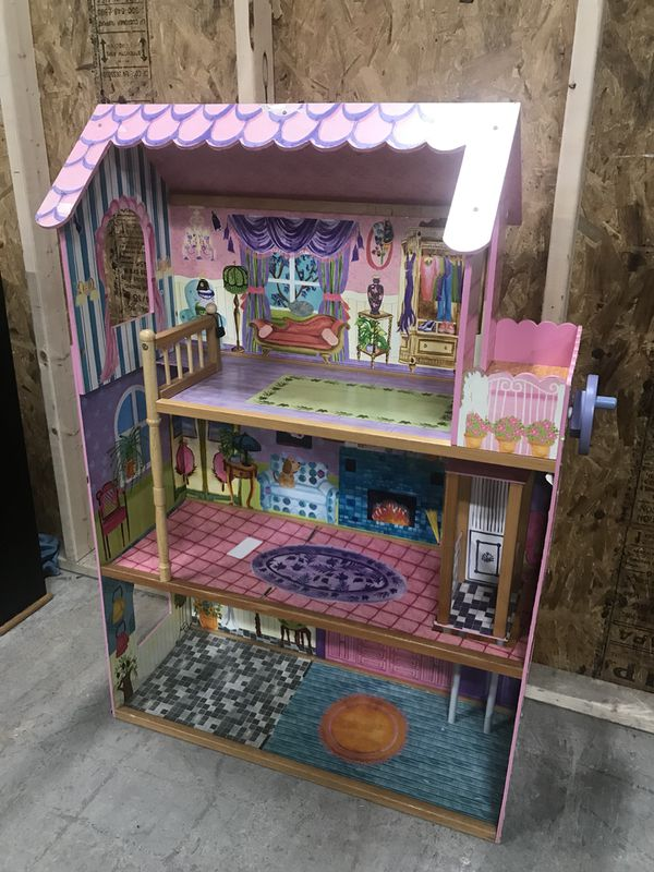 Big 4 Foot Tall Barbie Doll House With Elevator for Sale in Owings Mills,  MD - OfferUp