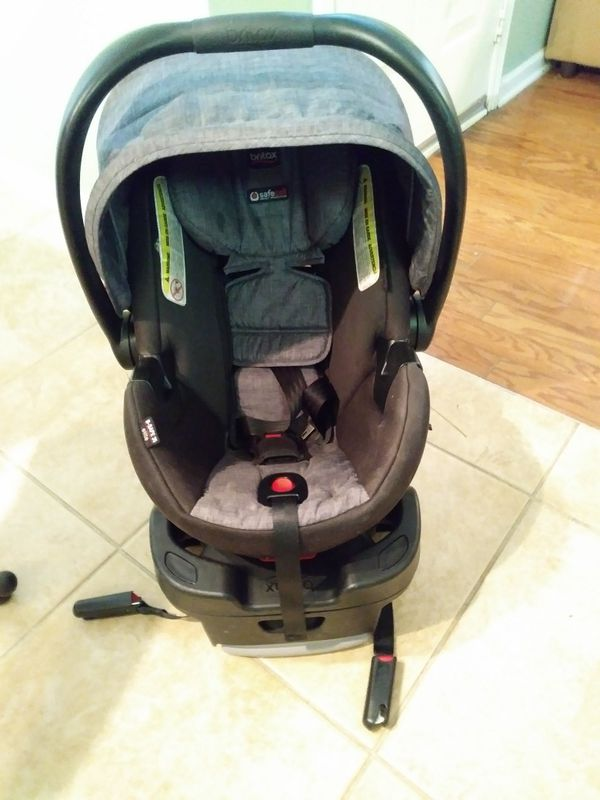 Britax Car Seat And Base 40 Expires 2021 Gender Neutral For Sale