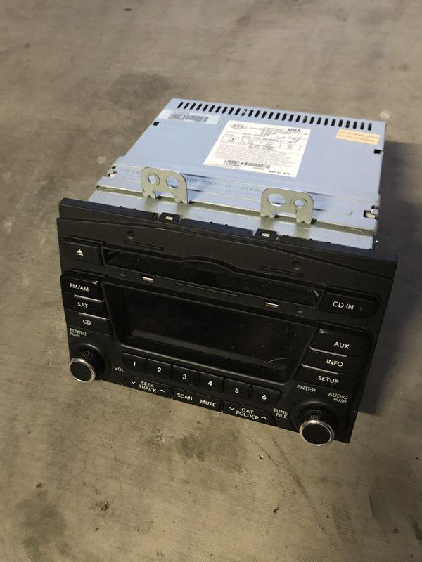 2013 kia optima head unit radio for sale in gilbert az. Black Bedroom Furniture Sets. Home Design Ideas