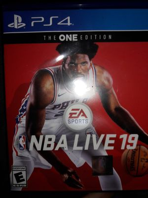 NBA Live 19 for PS4 for Sale in Federal Way, WA
