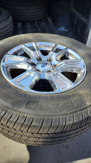 Photo Ford f150 rims/tires