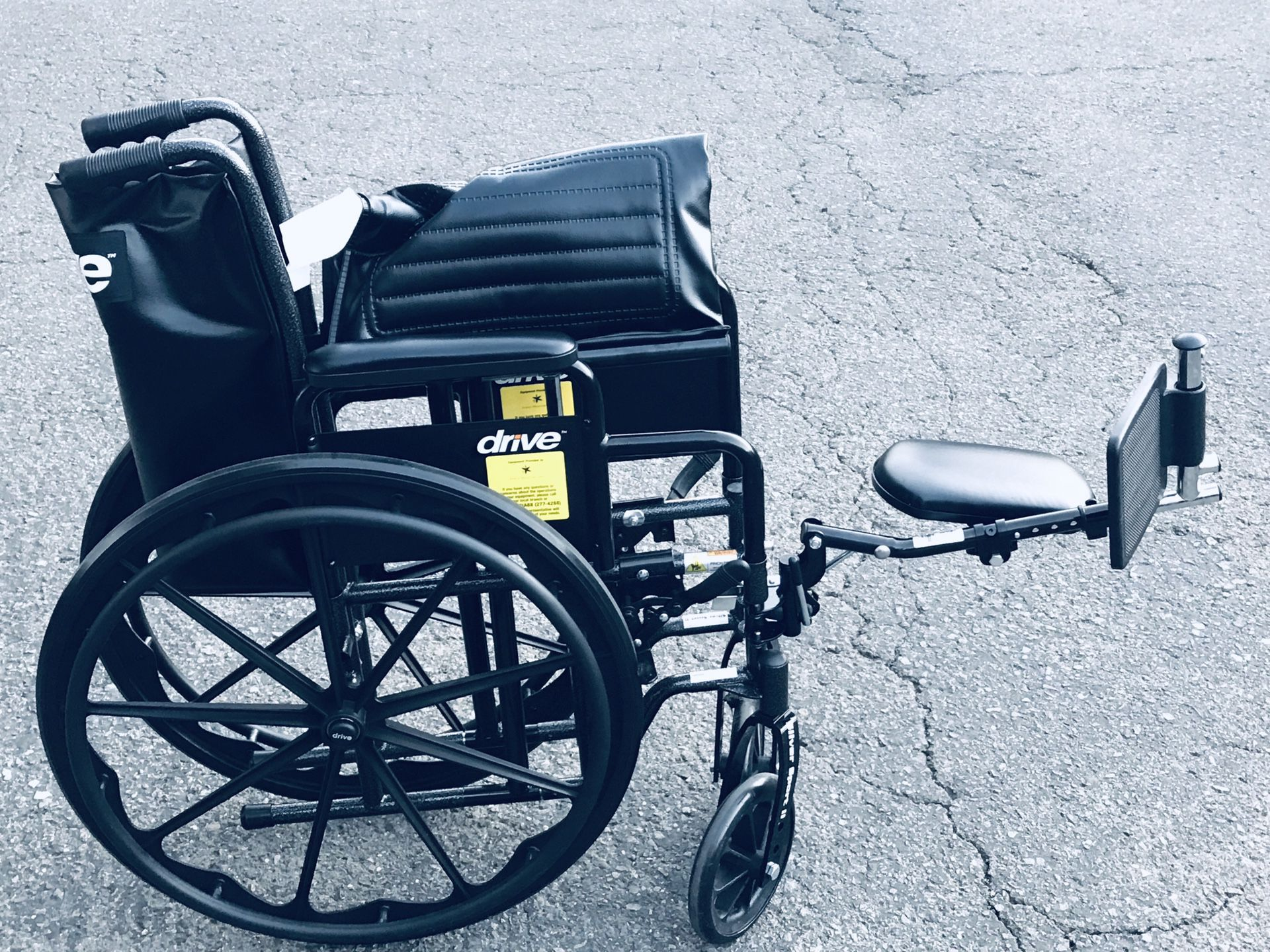 Wheel chair almost new