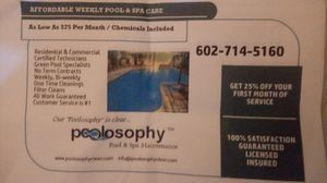 POOL PEOPLE WHO ACTUALLY LISTEN AND ARE LIKE FAMILY for Sale in Phoenix, AZ