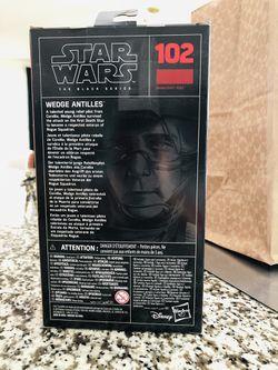 Wedge Antilles Rebel Pilot X Wing STAR WARS Black Series 102 Thumbnail
