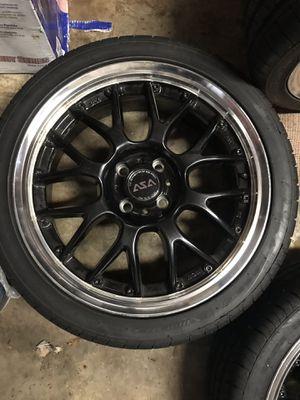 "4 lug 17"" rims & tires for Sale in Fort Washington, MD"